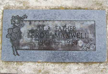 MAXWELL, LEROY - Benton County, Arkansas | LEROY MAXWELL - Arkansas Gravestone Photos