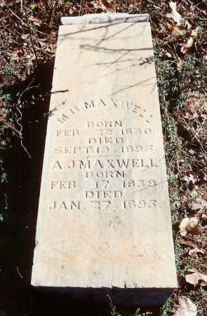 MAXWELL, AMERICA JANE - Benton County, Arkansas | AMERICA JANE MAXWELL - Arkansas Gravestone Photos
