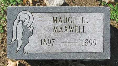 MAXWELL, MADGE - Benton County, Arkansas | MADGE MAXWELL - Arkansas Gravestone Photos