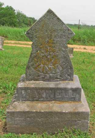 MAXWELL, NANNIE - Benton County, Arkansas   NANNIE MAXWELL - Arkansas Gravestone Photos