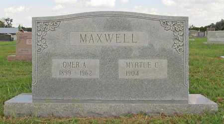 MAXWELL, OMER ALBERT - Benton County, Arkansas | OMER ALBERT MAXWELL - Arkansas Gravestone Photos