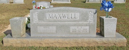 MAXWELL, R B - Benton County, Arkansas | R B MAXWELL - Arkansas Gravestone Photos