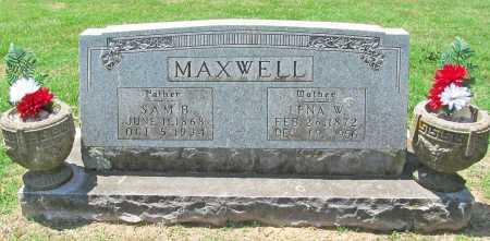 MAXWELL, SAM B - Benton County, Arkansas | SAM B MAXWELL - Arkansas Gravestone Photos