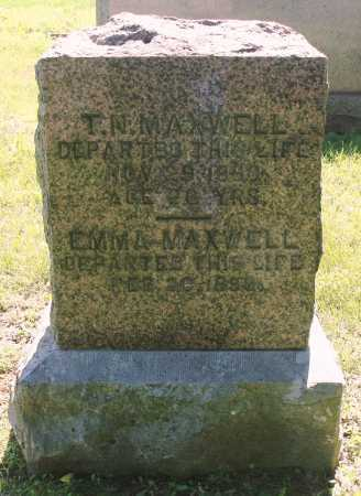 MAXWELL, EMMA - Benton County, Arkansas | EMMA MAXWELL - Arkansas Gravestone Photos