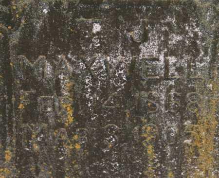 MAXWELL, T. J. (CLOSEUP) - Benton County, Arkansas | T. J. (CLOSEUP) MAXWELL - Arkansas Gravestone Photos