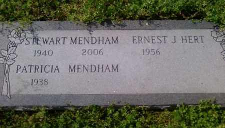 MENDHAM, STEWART JOHN - Benton County, Arkansas | STEWART JOHN MENDHAM - Arkansas Gravestone Photos