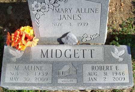 SHAFFER MIDGETT, MARY ALLINE - Benton County, Arkansas | MARY ALLINE SHAFFER MIDGETT - Arkansas Gravestone Photos