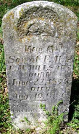 MILLSAPS, WILLIAM H. - Benton County, Arkansas   WILLIAM H. MILLSAPS - Arkansas Gravestone Photos