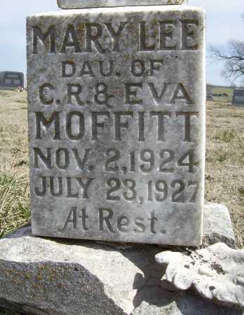 MOFFITT, MARY LEE (CLOSEUP) - Benton County, Arkansas | MARY LEE (CLOSEUP) MOFFITT - Arkansas Gravestone Photos