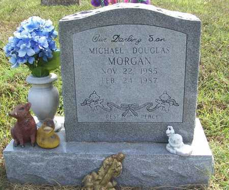 MORGAN, MICHAEL DOUGLAS - Benton County, Arkansas | MICHAEL DOUGLAS MORGAN - Arkansas Gravestone Photos