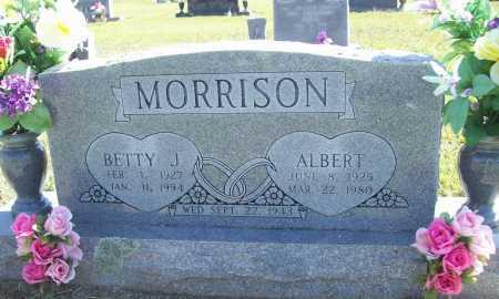 MORRISON, BETTY J. - Benton County, Arkansas | BETTY J. MORRISON - Arkansas Gravestone Photos