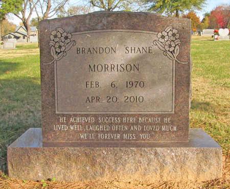 MORRISON, BRANDON SHANE - Benton County, Arkansas   BRANDON SHANE MORRISON - Arkansas Gravestone Photos