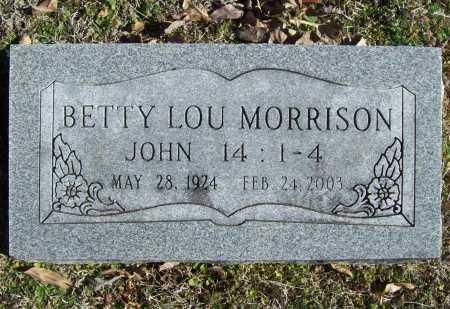 MORRISON, BETTY LOU - Benton County, Arkansas | BETTY LOU MORRISON - Arkansas Gravestone Photos
