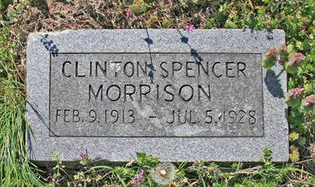 MORRISON, CLINTON SPENCER - Benton County, Arkansas | CLINTON SPENCER MORRISON - Arkansas Gravestone Photos