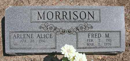 MORRISON, FRED M. - Benton County, Arkansas | FRED M. MORRISON - Arkansas Gravestone Photos