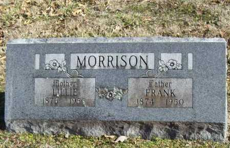 MORRISON, LILLIE - Benton County, Arkansas | LILLIE MORRISON - Arkansas Gravestone Photos