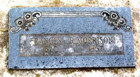 MORRISON, FRANCES R. - Benton County, Arkansas | FRANCES R. MORRISON - Arkansas Gravestone Photos