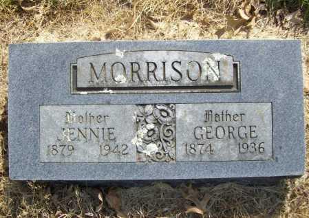 MORRISON, GEORGE - Benton County, Arkansas   GEORGE MORRISON - Arkansas Gravestone Photos