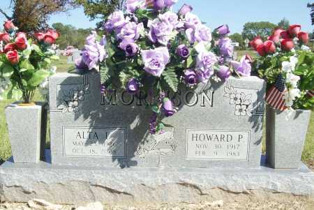 MORRISON, HOWARD PAUL - Benton County, Arkansas | HOWARD PAUL MORRISON - Arkansas Gravestone Photos
