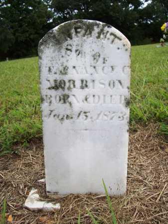 MORRISON, INFANT SON - Benton County, Arkansas | INFANT SON MORRISON - Arkansas Gravestone Photos