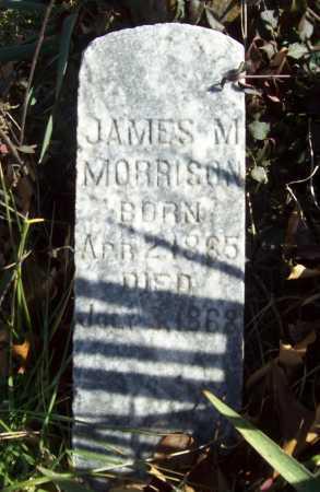 MORRISON, JAMES M - Benton County, Arkansas | JAMES M MORRISON - Arkansas Gravestone Photos
