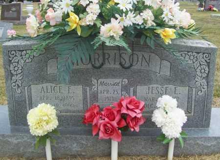 MORRISON, ALICE E. - Benton County, Arkansas   ALICE E. MORRISON - Arkansas Gravestone Photos