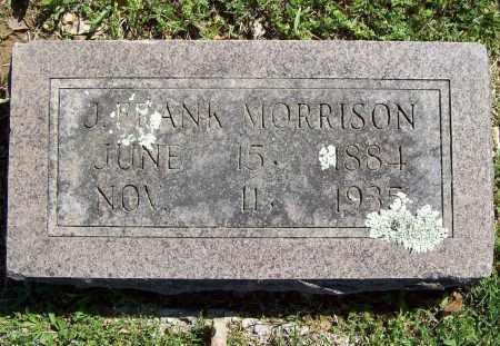 MORRISON, J. FRANK - Benton County, Arkansas   J. FRANK MORRISON - Arkansas Gravestone Photos