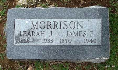 MORRISON, JAMES F. - Benton County, Arkansas | JAMES F. MORRISON - Arkansas Gravestone Photos