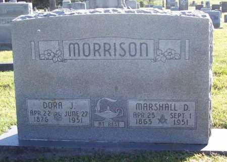MORRISON, DORA J. - Benton County, Arkansas   DORA J. MORRISON - Arkansas Gravestone Photos