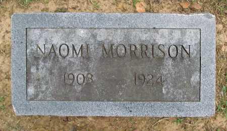 MORRISON, NAOMI - Benton County, Arkansas   NAOMI MORRISON - Arkansas Gravestone Photos
