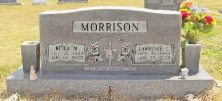 MORRISON, RETHA M - Benton County, Arkansas | RETHA M MORRISON - Arkansas Gravestone Photos