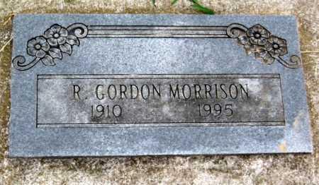 MORRISON, R. GORDON - Benton County, Arkansas   R. GORDON MORRISON - Arkansas Gravestone Photos