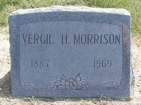 MORRISON, VERGIL H. - Benton County, Arkansas | VERGIL H. MORRISON - Arkansas Gravestone Photos