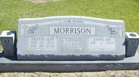 MORRISON, VELETTA JEAN - Benton County, Arkansas   VELETTA JEAN MORRISON - Arkansas Gravestone Photos
