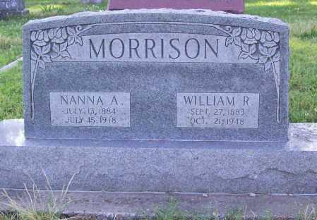MORRISON, WILLIAM R. - Benton County, Arkansas | WILLIAM R. MORRISON - Arkansas Gravestone Photos