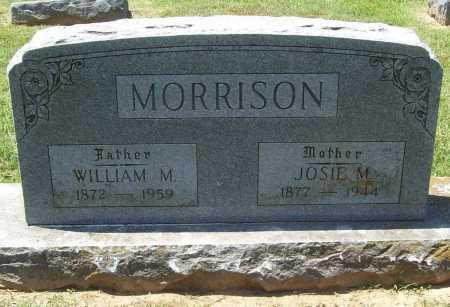 MORRISON, WILLIAM M. - Benton County, Arkansas | WILLIAM M. MORRISON - Arkansas Gravestone Photos