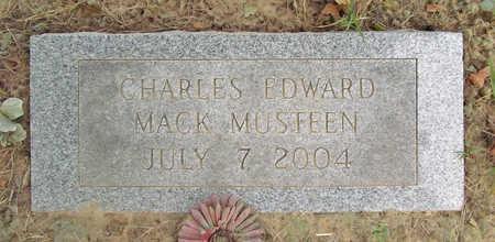 MUSTEEN, CHARLES EDWARD MACK - Benton County, Arkansas | CHARLES EDWARD MACK MUSTEEN - Arkansas Gravestone Photos