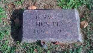 MUSTEEN, HOWARD R - Benton County, Arkansas | HOWARD R MUSTEEN - Arkansas Gravestone Photos