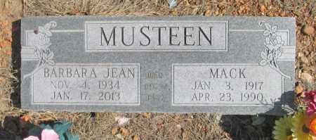 MUSTEEN, BARBARA JEAN - Benton County, Arkansas | BARBARA JEAN MUSTEEN - Arkansas Gravestone Photos