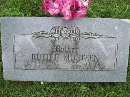 MUSTEEN, RUTH E. - Benton County, Arkansas | RUTH E. MUSTEEN - Arkansas Gravestone Photos
