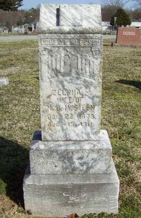MUSTEEN, ZELPHA CATHERINE - Benton County, Arkansas | ZELPHA CATHERINE MUSTEEN - Arkansas Gravestone Photos