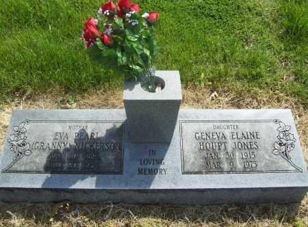 JONES, GENEVA ELAINE - Benton County, Arkansas | GENEVA ELAINE JONES - Arkansas Gravestone Photos