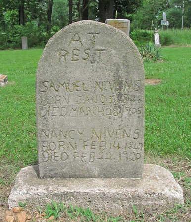 NIVENS, SAMUEL - Benton County, Arkansas | SAMUEL NIVENS - Arkansas Gravestone Photos