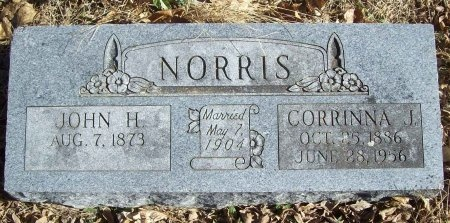 NORRIS, CORRINNA J - Benton County, Arkansas | CORRINNA J NORRIS - Arkansas Gravestone Photos