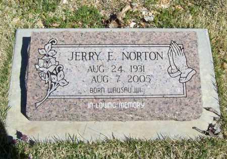 NORTON, JERRY E. - Benton County, Arkansas | JERRY E. NORTON - Arkansas Gravestone Photos