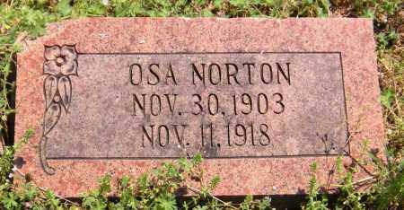 NORTON, OSA - Benton County, Arkansas | OSA NORTON - Arkansas Gravestone Photos
