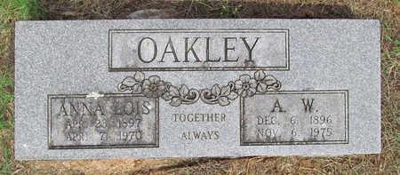 OAKLEY, ALFORD W - Benton County, Arkansas   ALFORD W OAKLEY - Arkansas Gravestone Photos