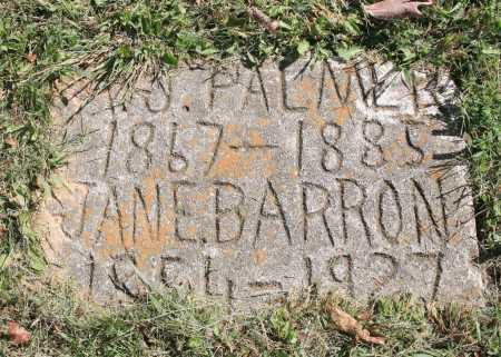 PALMER, JANE - Benton County, Arkansas   JANE PALMER - Arkansas Gravestone Photos