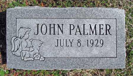 PALMER, JOHN - Benton County, Arkansas   JOHN PALMER - Arkansas Gravestone Photos