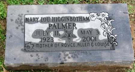 PALMER, MARY LOU - Benton County, Arkansas | MARY LOU PALMER - Arkansas Gravestone Photos